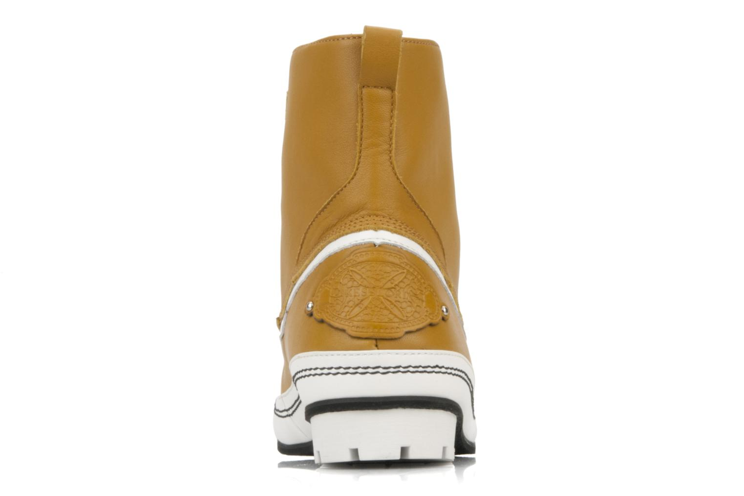 Ankle boots Kesslord Dawson Brown view from the right