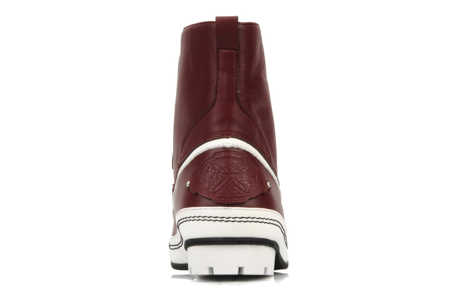 Ankle boots Kesslord Dawson Burgundy view from the right
