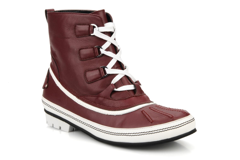 Ankelstøvler Kesslord Dawson Bordeaux detaljeret billede af skoene