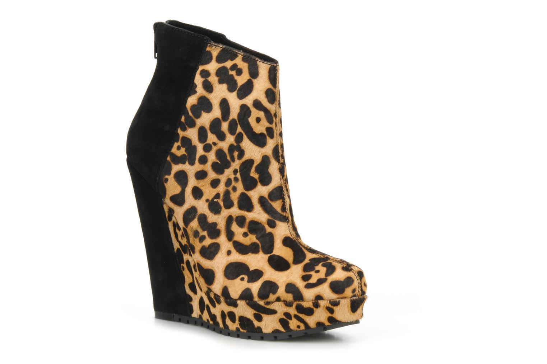 Huette Leopardblack