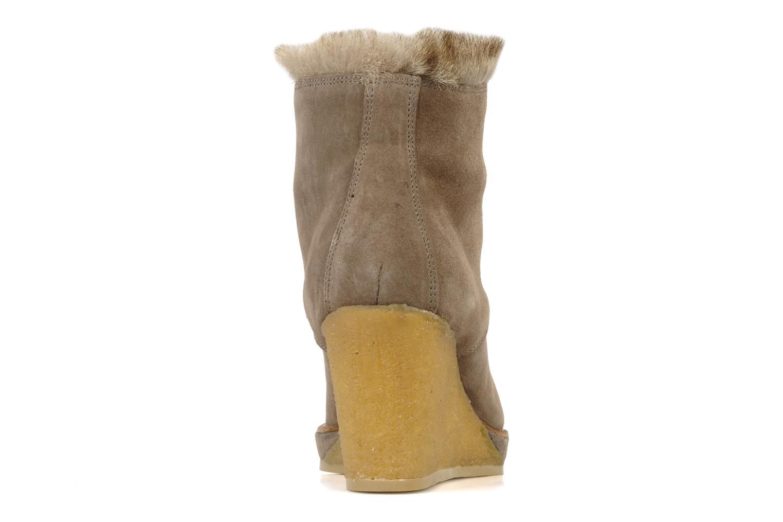 Boots No Name New aki crepe desert botte Beige Bild från höger sidan