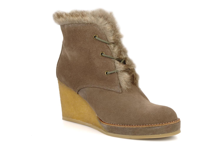 Ankelstøvler No Name New aki crepe desert botte Beige detaljeret billede af skoene