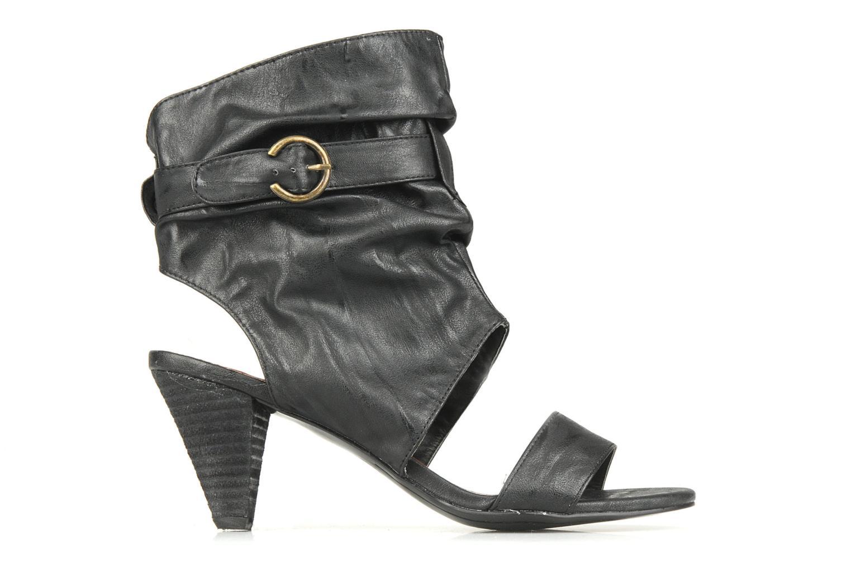 Sandales et nu-pieds Spot On Marila Noir vue derrière