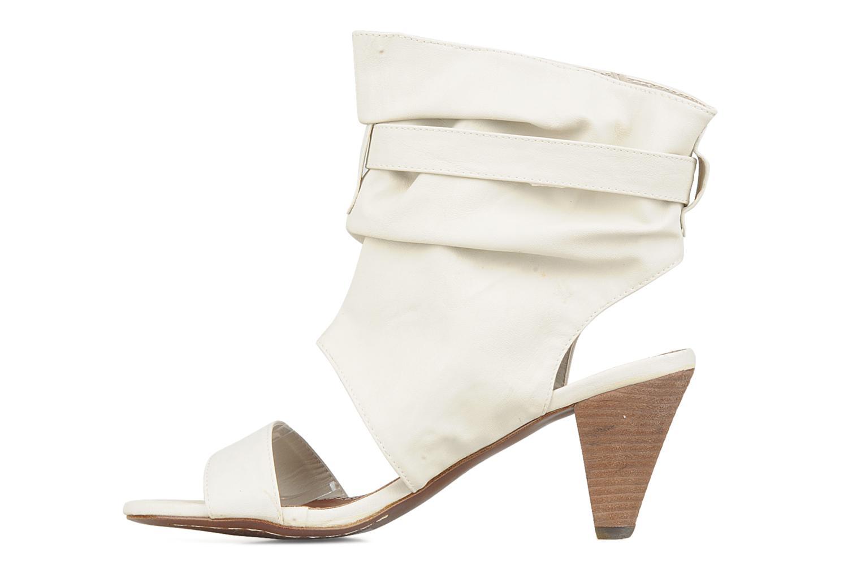 Sandales et nu-pieds Spot On Marila Blanc vue face