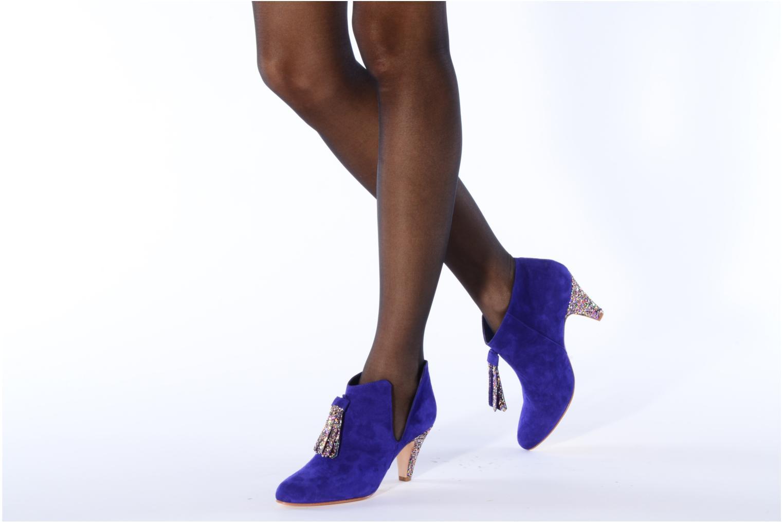 Pl55 bis Bleu électrique et glitter