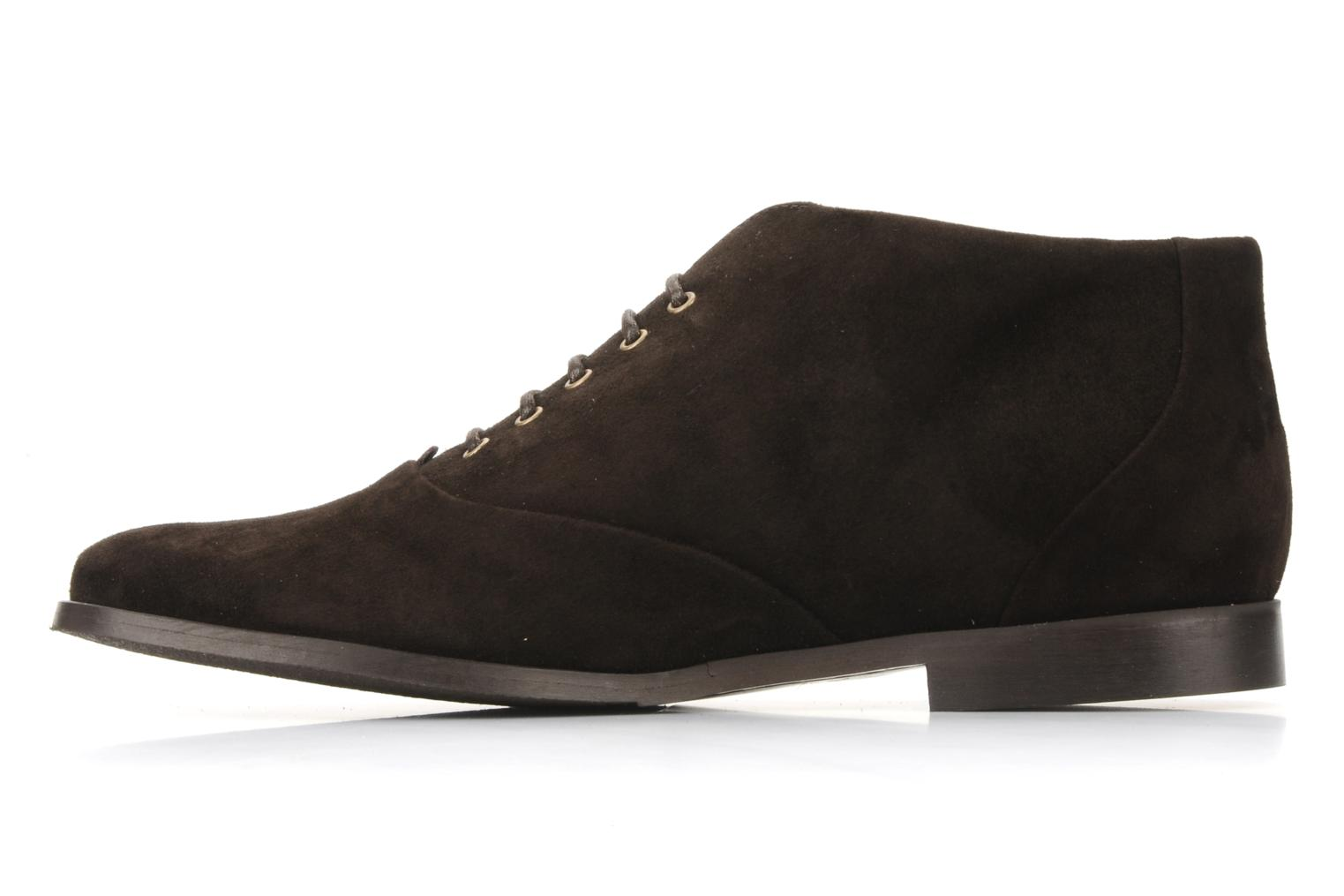 Ankle boots Georgia Rose Nonou Brown front view