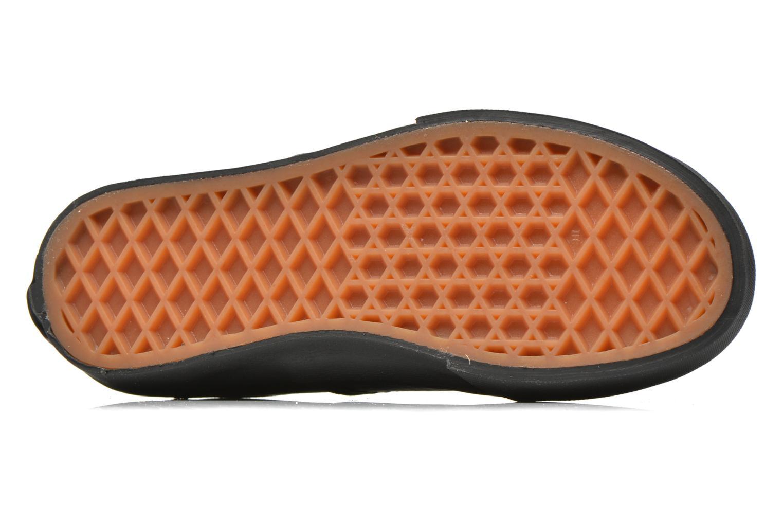 Sneaker Vans Authentic E schwarz ansicht von oben