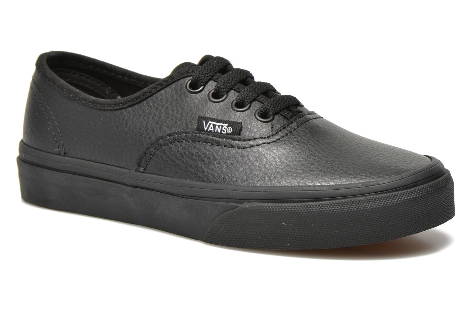 Sneakers Vans Authentic E Zwart detail
