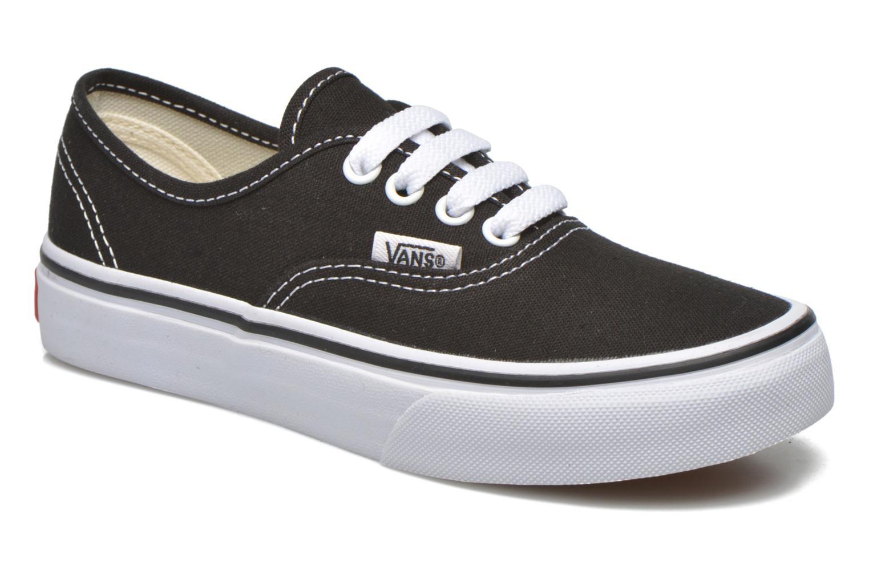 Sneakers Vans Authentic E Zwart detail