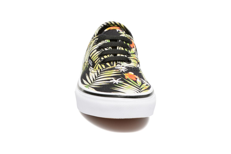Baskets Vans Authentic E Multicolore vue portées chaussures