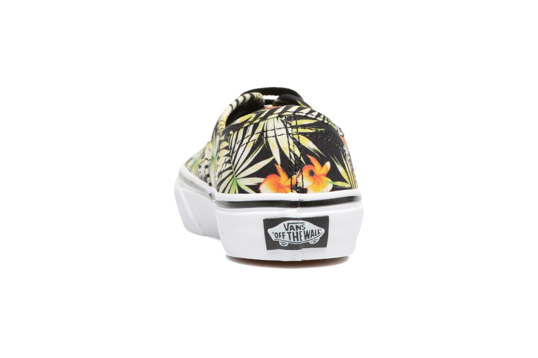 Sneakers Vans Authentic E Multicolor achterkant