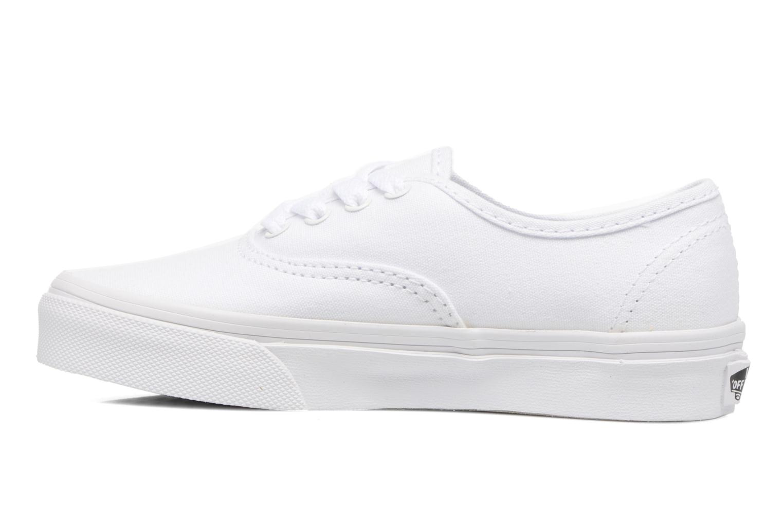 Baskets Vans Authentic E Blanc vue face