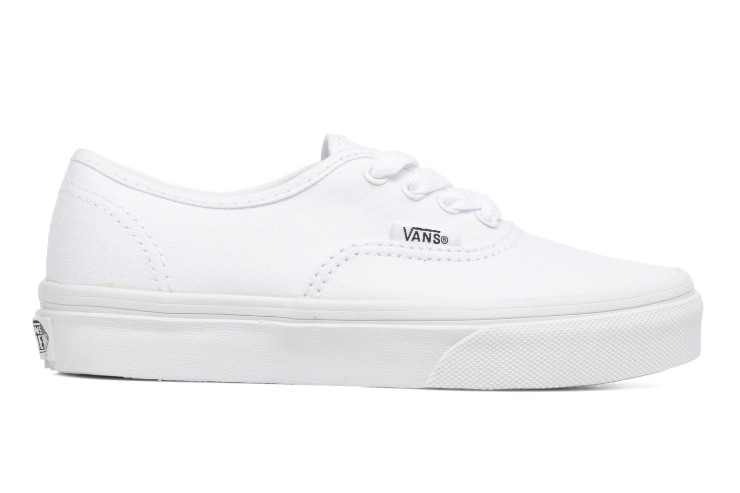 Baskets Vans Authentic E Blanc vue derrière