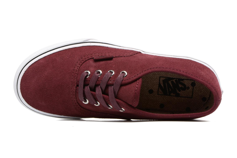 Sneakers Vans Authentic E Bordeaux links