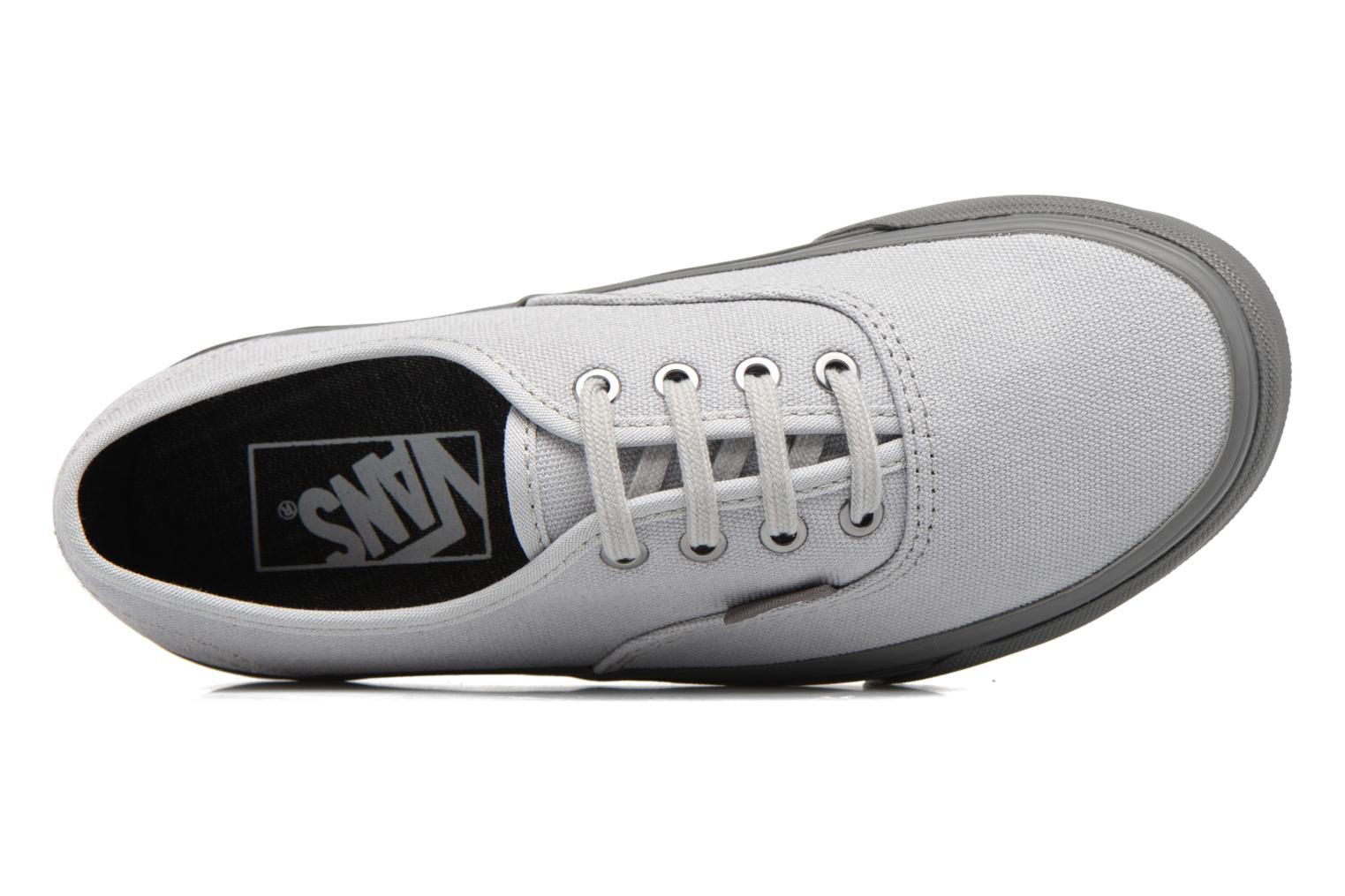 Trainers Vans Authentic E Grey view from the left