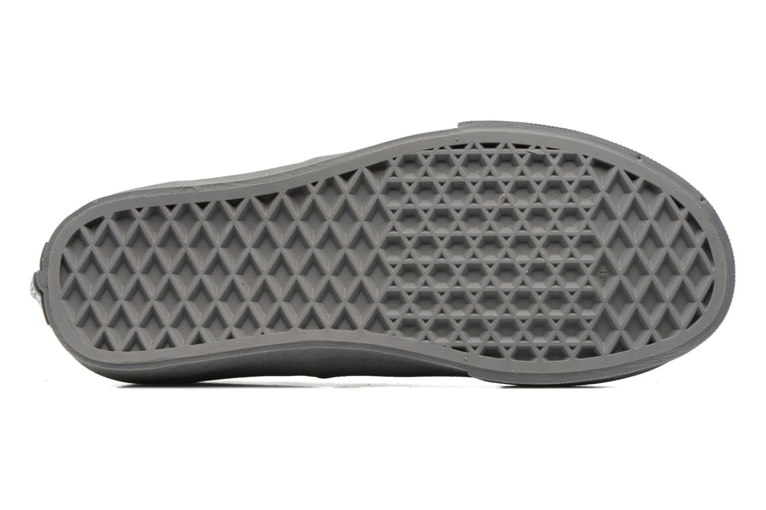 Trainers Vans Authentic E Grey view from above
