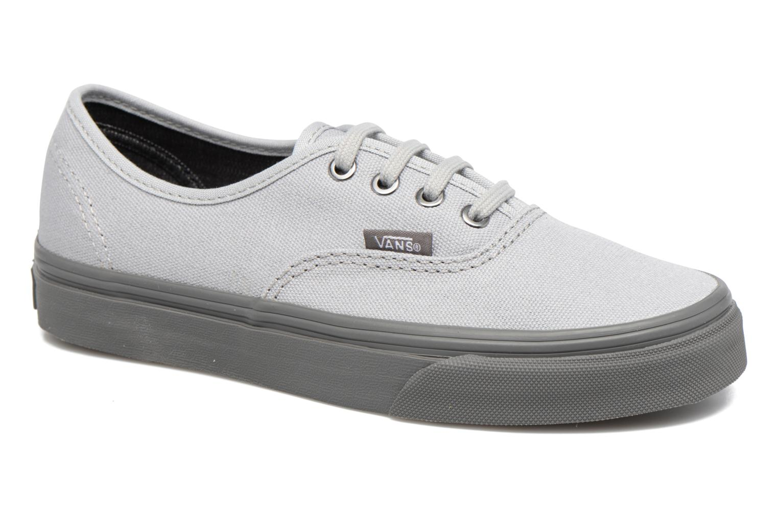 Trainers Vans Authentic E Grey detailed view/ Pair view