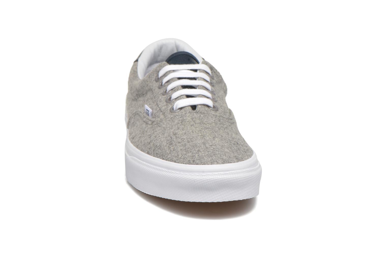 Sneaker Vans Era 59 grau schuhe getragen