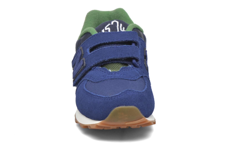 Sneaker New Balance Kv574NEI blau schuhe getragen