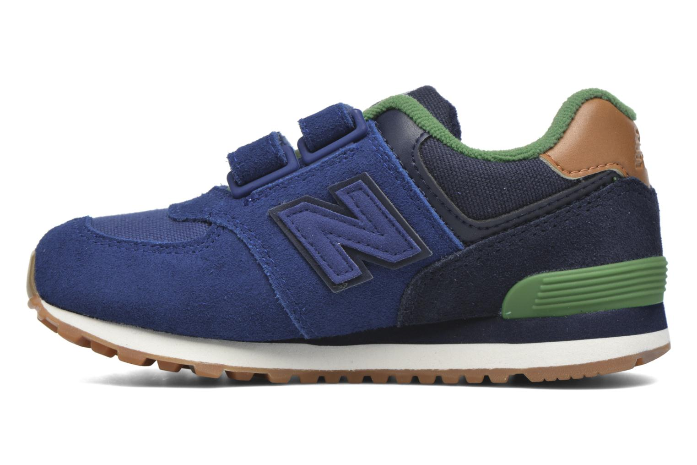 Sneaker New Balance Kv574NEI blau ansicht von vorne