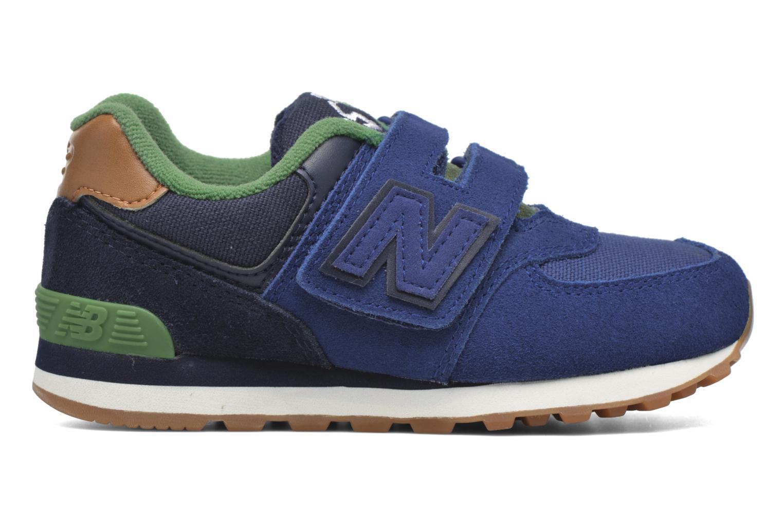 Sneaker New Balance Kv574NEI blau ansicht von hinten