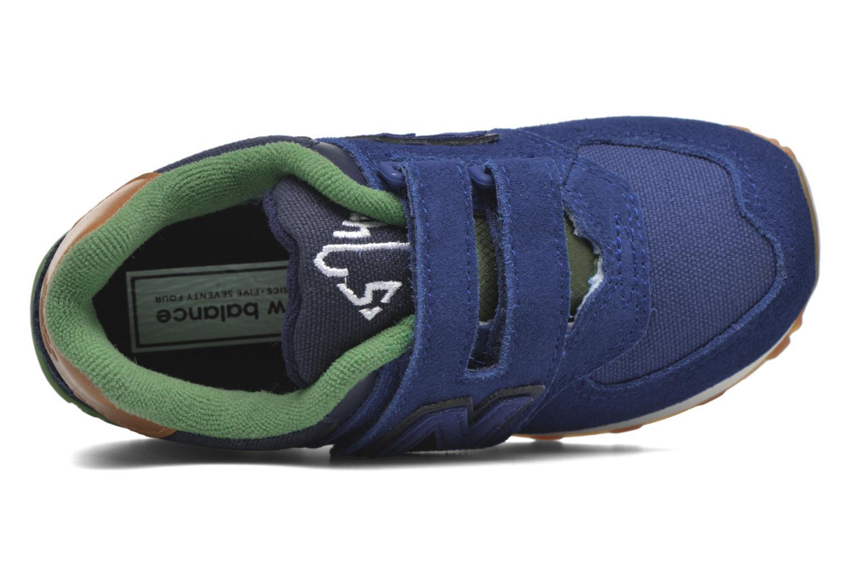 Sneaker New Balance Kv574NEI blau ansicht von links