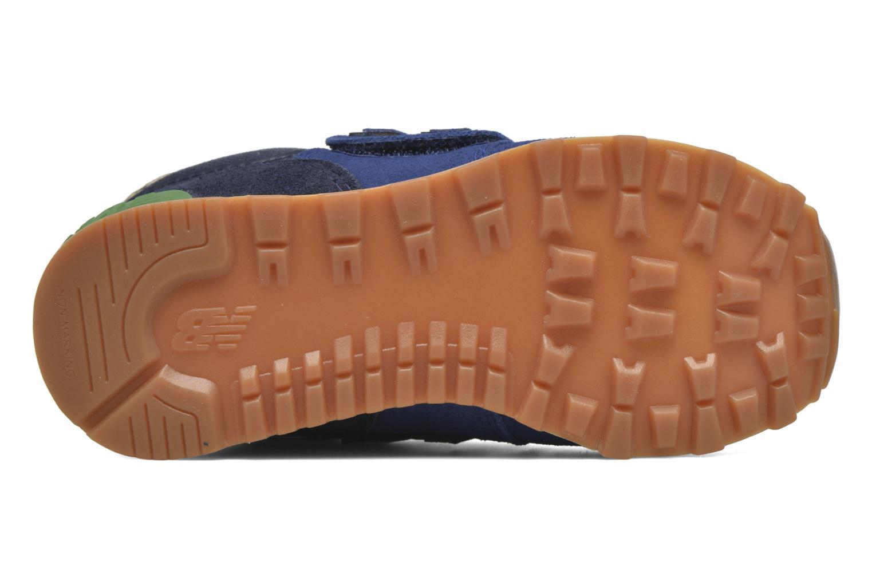 Sneaker New Balance Kv574NEI blau ansicht von oben