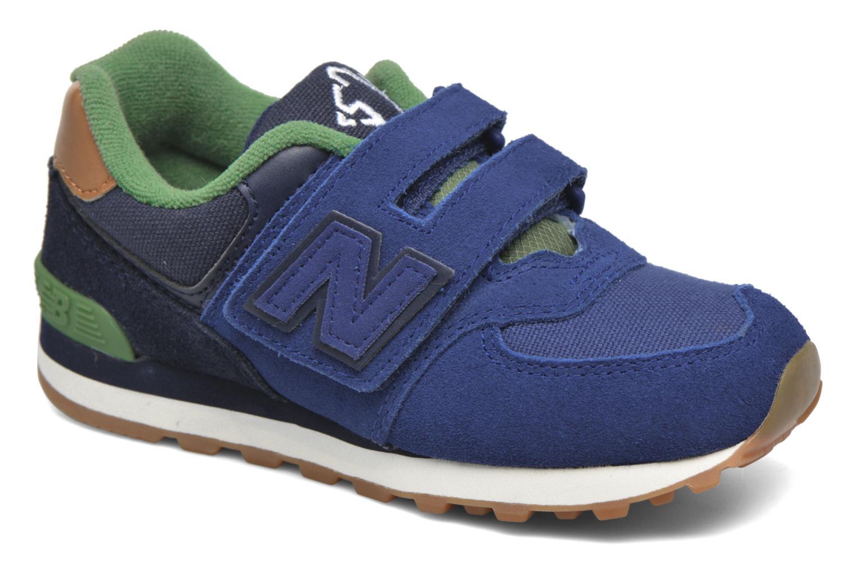Sneaker New Balance Kv574NEI blau detaillierte ansicht/modell