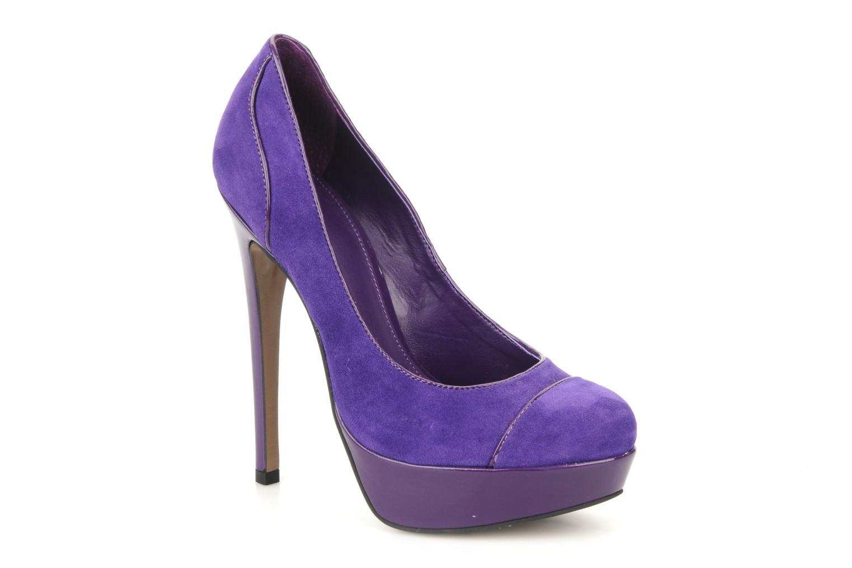 Escarpins Carvela Alma Violet vue détail/paire