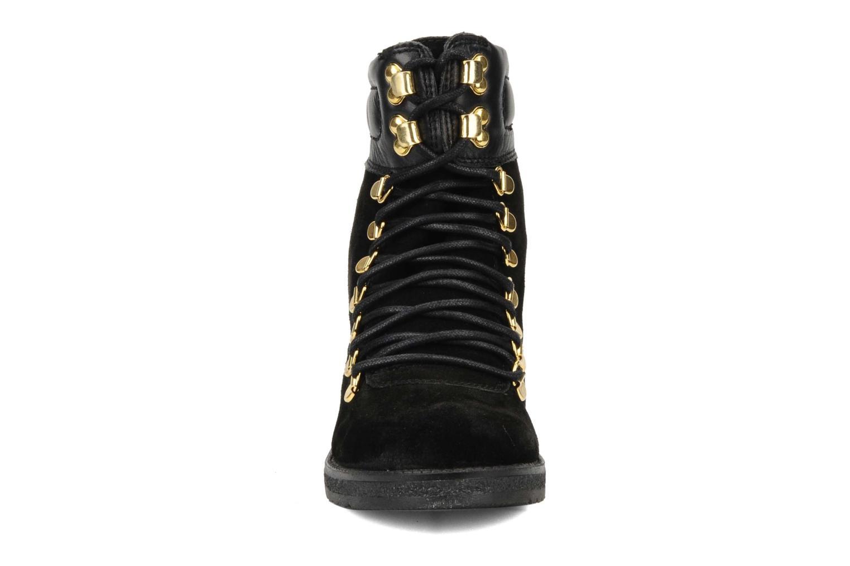 Bottines et boots Carvela Sierra Noir vue portées chaussures