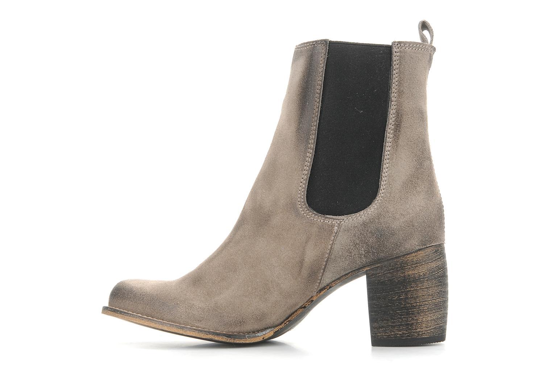 Bottines et boots Jeffrey Campbell Areas Gris vue face