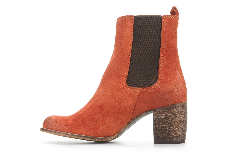 Bottines et boots Jeffrey Campbell Areas Orange vue face