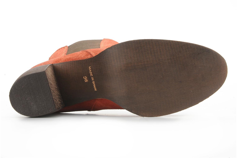 Bottines et boots Jeffrey Campbell Areas Orange vue haut