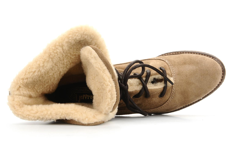 Bottines et boots Jeffrey Campbell Azure Beige vue gauche