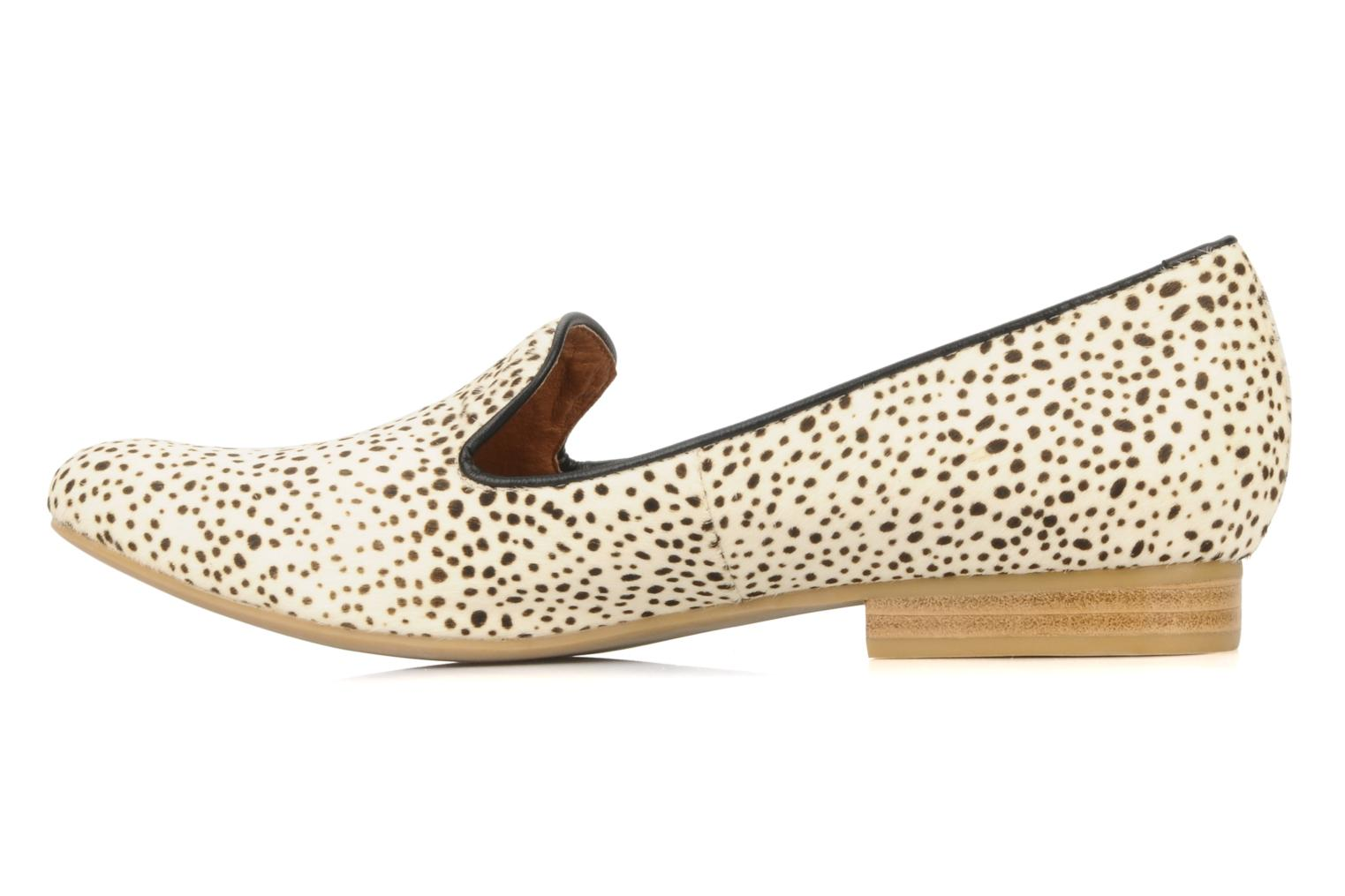 Loafers Jeffrey Campbell Elegant White front view
