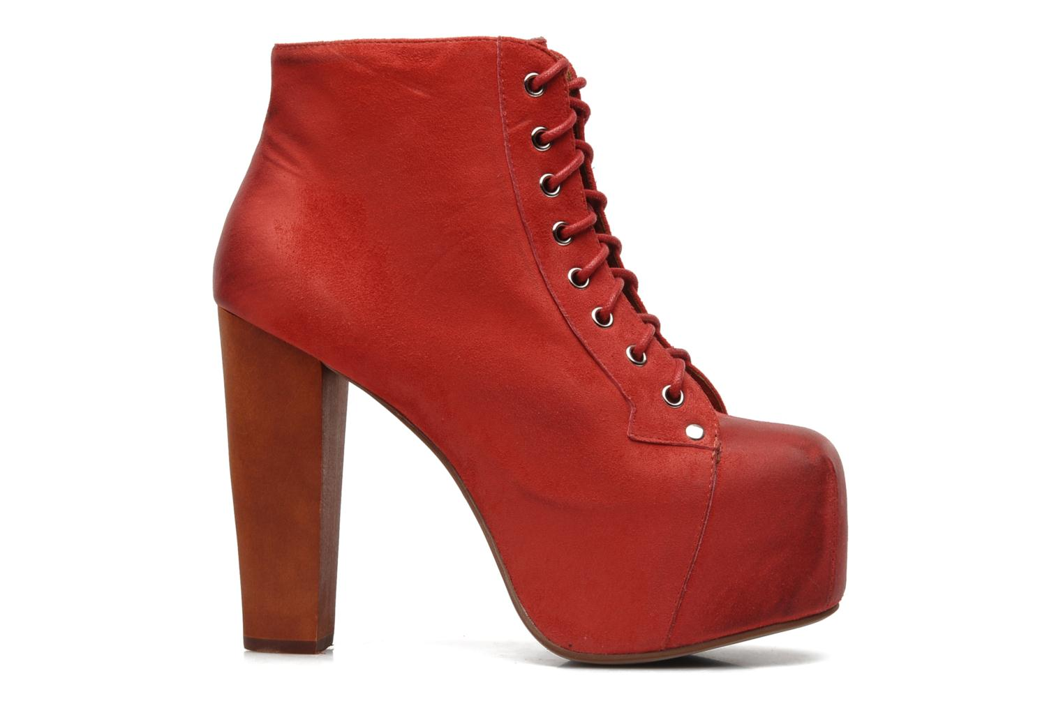 Ankle boots Jeffrey Campbell Lita Red back view