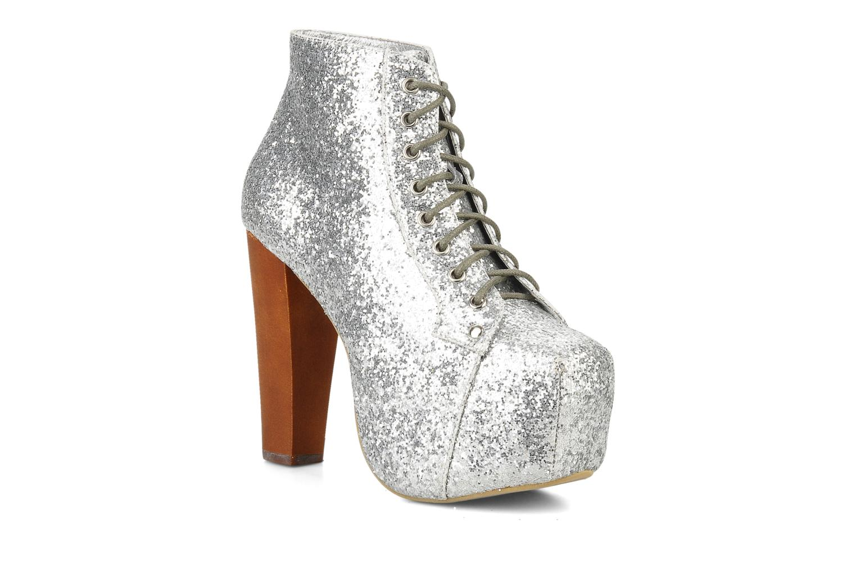 Stiefeletten & Boots Jeffrey Campbell Lita silber detaillierte ansicht/modell