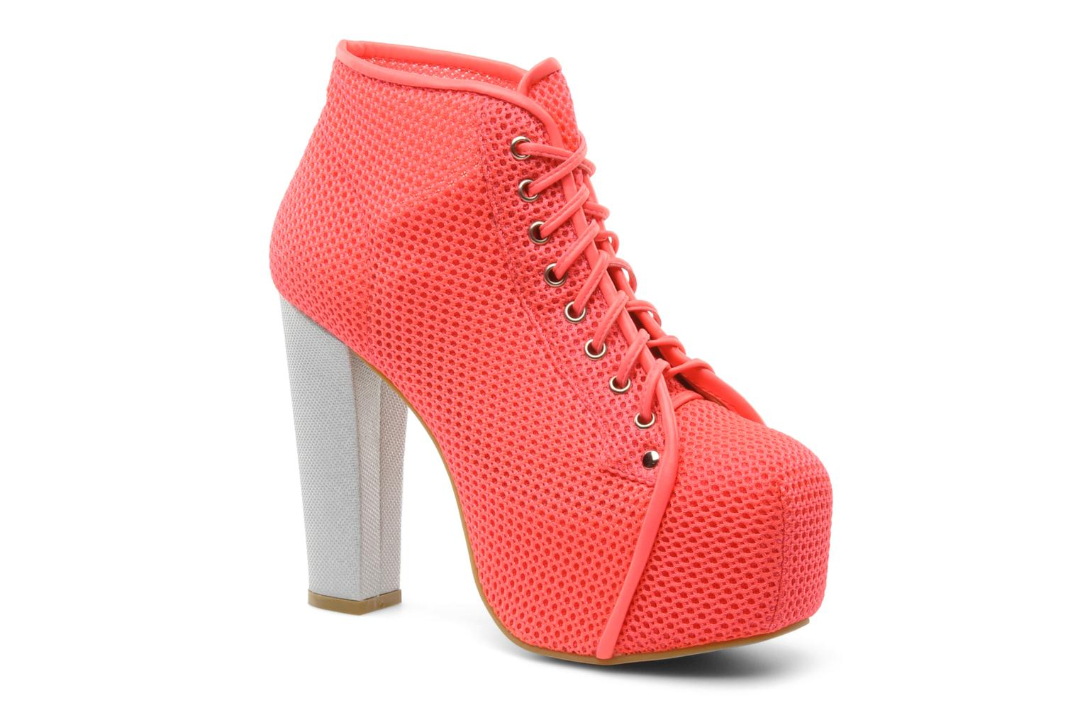 Ankle boots Jeffrey Campbell Lita Pink detailed view/ Pair view