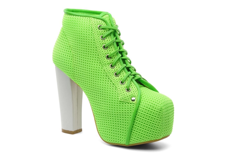 Bottines et boots Jeffrey Campbell Lita Vert vue détail/paire