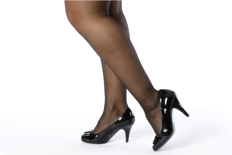 Pumps I Love Shoes Woolver schwarz ansicht von unten / tasche getragen