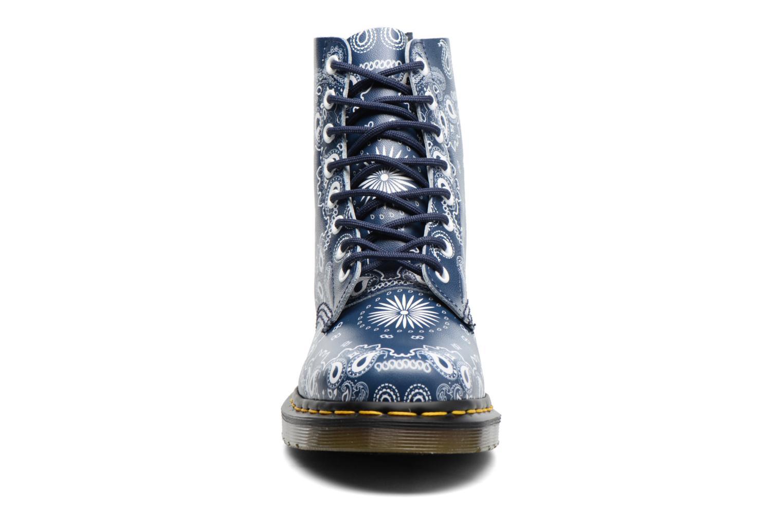 Bottines et boots Dr. Martens Pascal Bleu vue portées chaussures