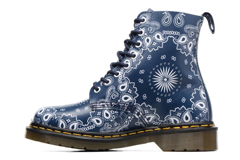 Bottines et boots Dr. Martens Pascal Bleu vue face