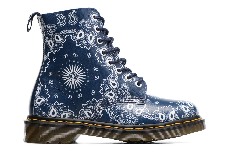 Boots en enkellaarsjes Dr. Martens Pascal Blauw achterkant
