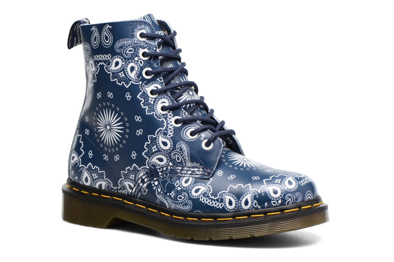 Boots en enkellaarsjes Dr. Martens Pascal Blauw detail