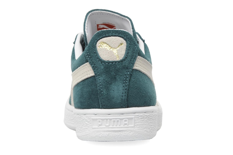 Sneakers Puma Suede Classic + Groen rechts