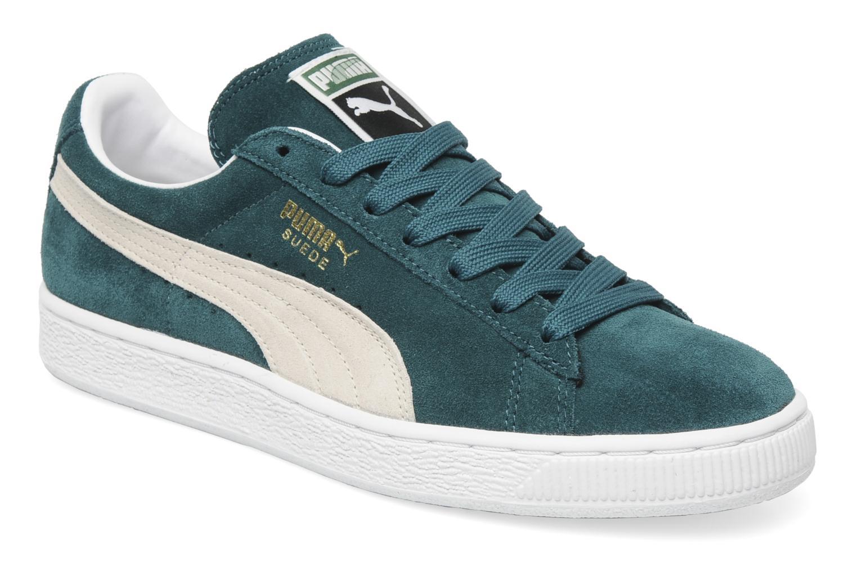 Sneakers Puma Suede Classic + Groen detail