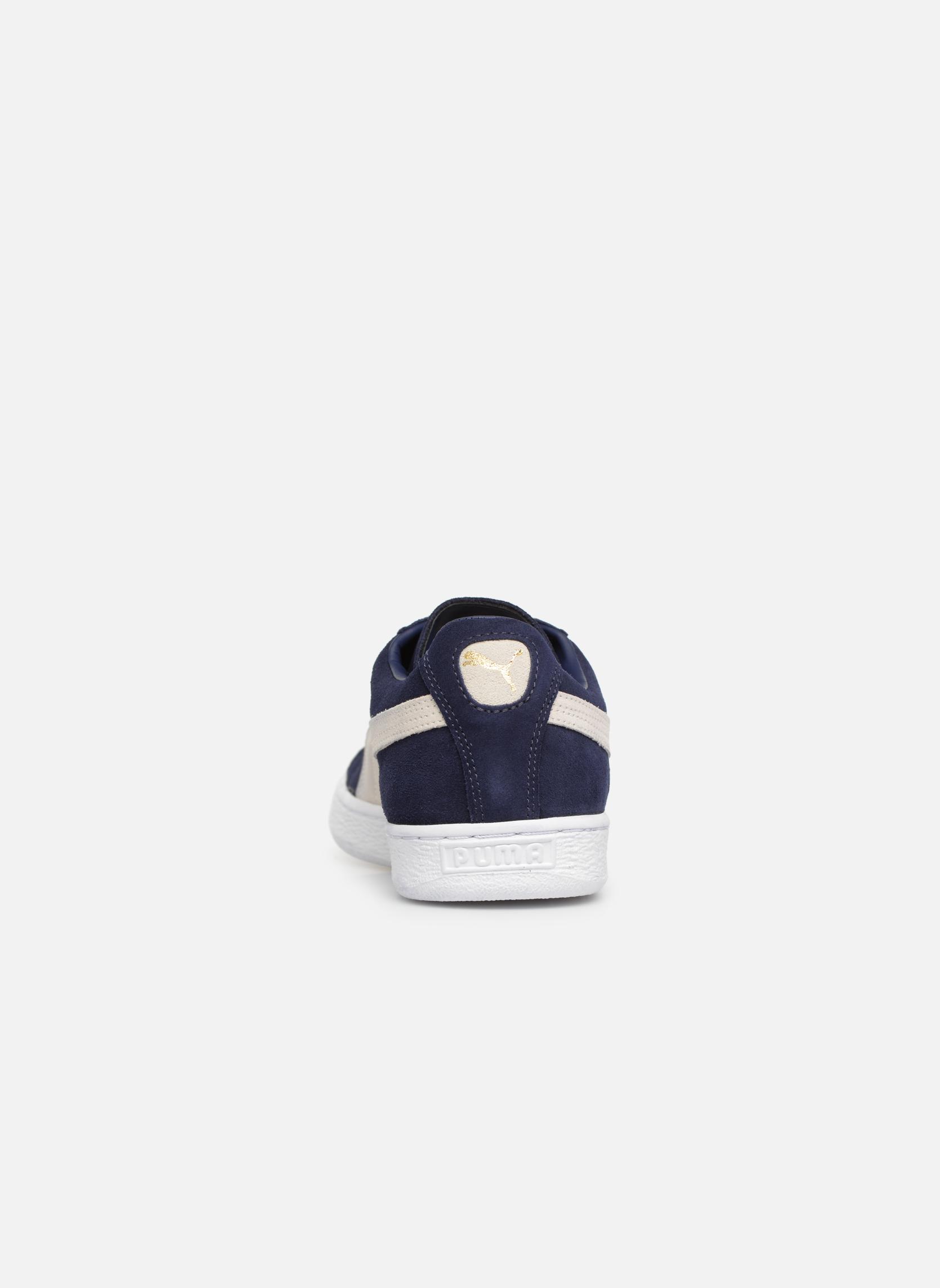 Sneaker Puma Suede Classic + blau ansicht von rechts