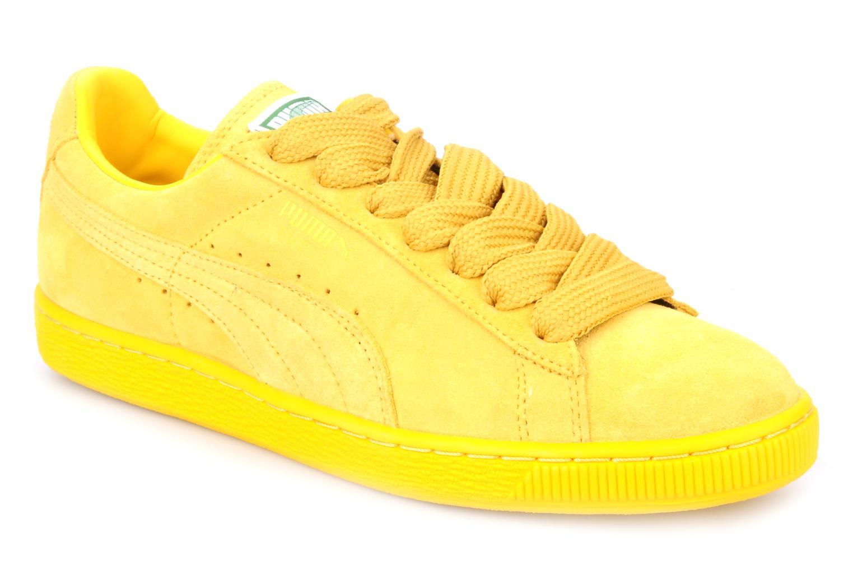 puma suede classic amarillo