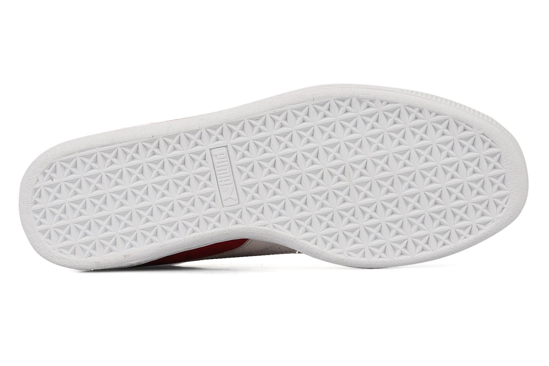 Sneaker Puma Suede Classic + rot ansicht von oben