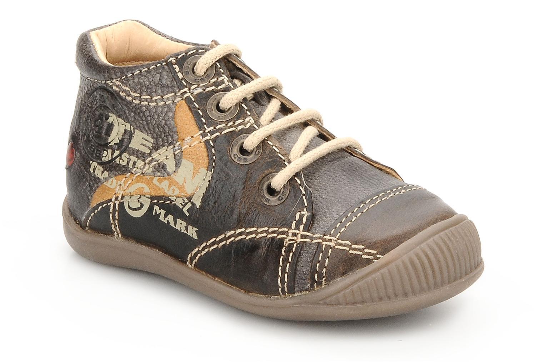 Ankelstøvler GBB Babyboy 152 Brun detaljeret billede af skoene